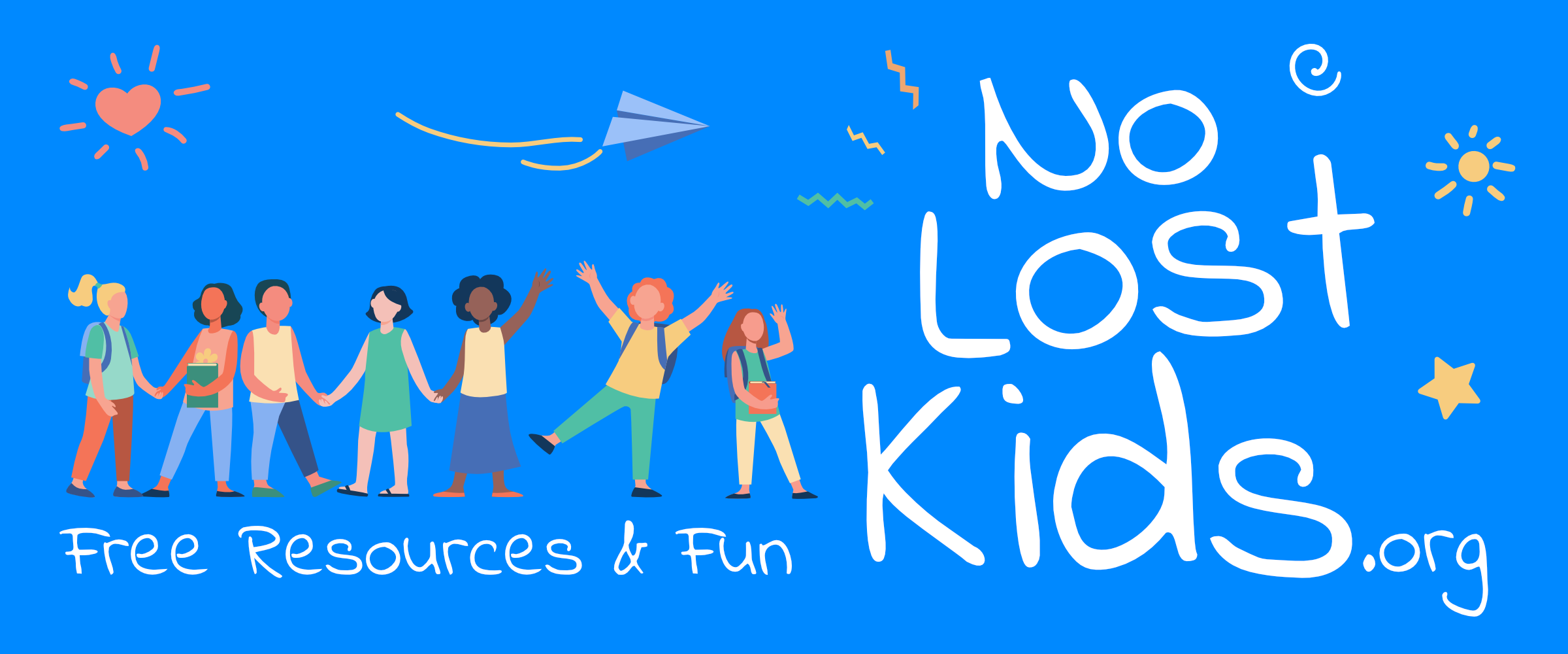 No Lost Kids.org | Free Resources & Fun